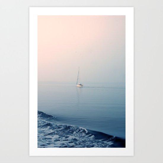 nebbia II Art Print