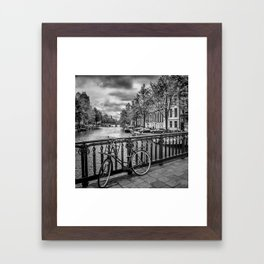 AMSTERDAM Emperors Canal Framed Art Print