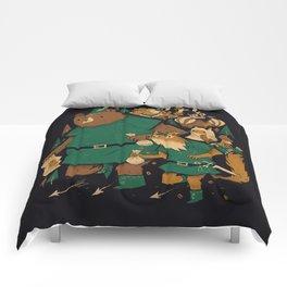 oo-de-lally Comforters