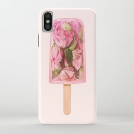 FLORAL POPSICLE iPhone Case