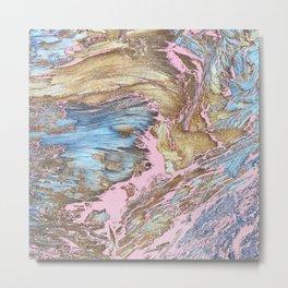 Woody Pink Metal Print