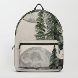 Full Moon Rising Backpack