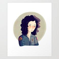 Last Survivor of the Notsromo Art Print
