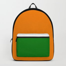 Team Color 6...green,orange Backpack