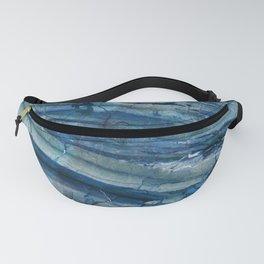Ocean Depths Blue Marble Fanny Pack