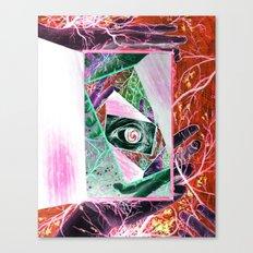 When Madness Strikes Canvas Print