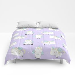 Pegacorn - Purple Comforters