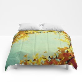 Gingko Branches Comforters