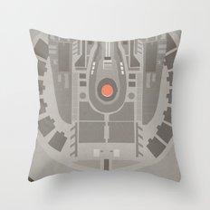 Star Trek NX - 01 Refit Throw Pillow