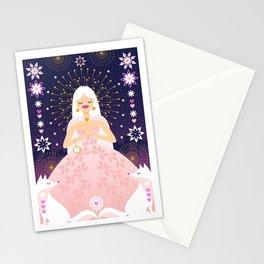 JANUARY GIRL Stationery Cards