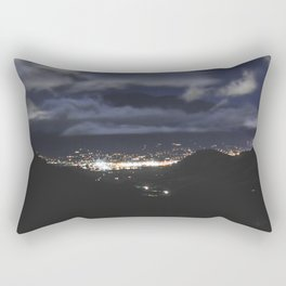 Horizon Lights Rectangular Pillow