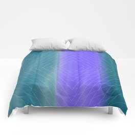 Delusional Lines Comforters