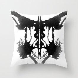 Rorschach I Throw Pillow