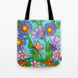Springtime Series #3 Butterfly Tote Bag
