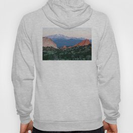 Sunrise at Garden of the Gods and Pikes Peak Hoody