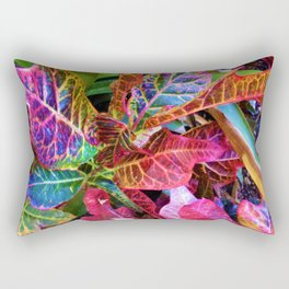 Colorful Leaves 2 Rectangular Pillow