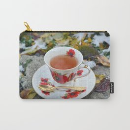 Winter Tea Time Carry-All Pouch