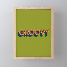 Groovy Framed Mini Art Print