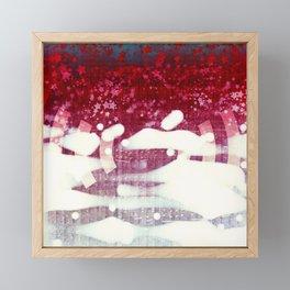 emergence candy Framed Mini Art Print