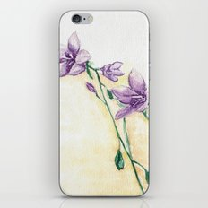 Campanula iPhone & iPod Skin