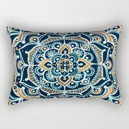 Bohemian Zen Mandala Rectangular Pillow