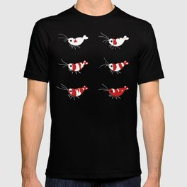 Crystal red shrimps T-shirt