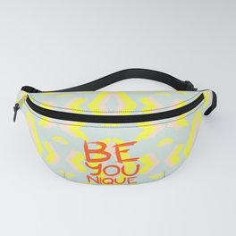 Be-You-Nique #society6 #motivational Fanny Pack