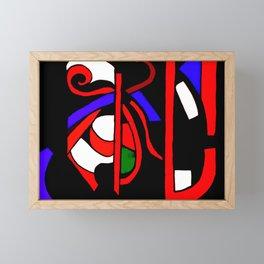 Whacked Framed Mini Art Print