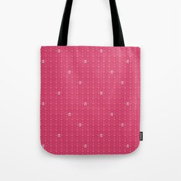 Hugs, Kisses, Love, and Pi - Pink  Tote Bag