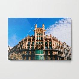 Eixample - Barcelona, Spain - #9 Metal Print