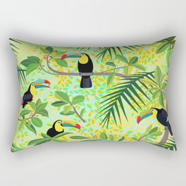 Toucans Rectangular Pillow