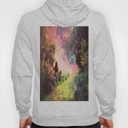 Fantasy Garden Path Deep Pastels Hoody