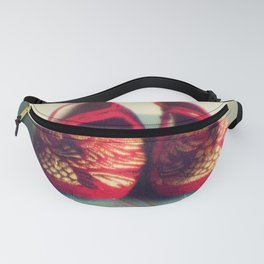 Two red shoes Fanny Pack
