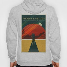 SpaceX Mars tourism poster / DP Hoody