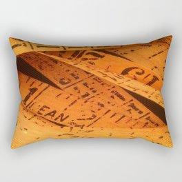 The Measure Of The Man Rectangular Pillow