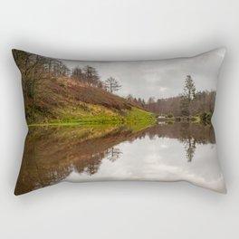 Penllergare Upper Lake Rectangular Pillow