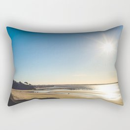 The winter afternoon Rectangular Pillow