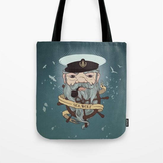 Sea wolf 2 Tote Bag