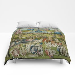 The Garden Of Earthly Delights (Extreme High Quality) Comforters