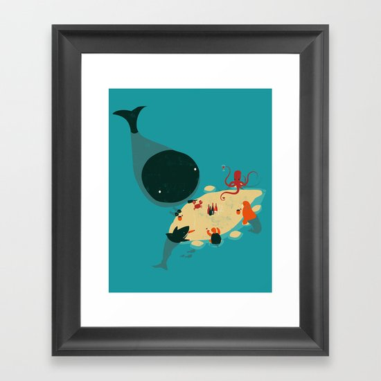 Sandbar Framed Art Print