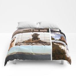 Collage of Rügen Comforters