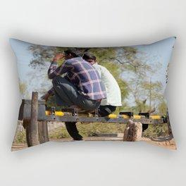 Leisure Time Rectangular Pillow