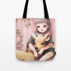 My dear lady deer... Tote Bag
