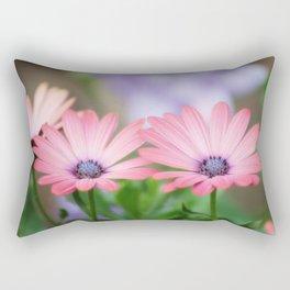 Twin osteospermum flowers Rectangular Pillow