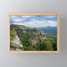 Pravčická brána Framed Mini Art Print