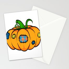 "Great Halloween Sirt Costume For November October ""Pumpkin"" T-shirt Design Fruit Sew Sewing Patch Stationery Cards"