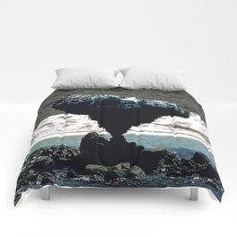 Teetering on the Edge Comforters
