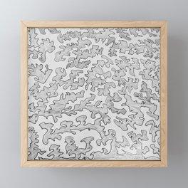 Be Still Framed Mini Art Print