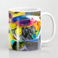 archan nair Mugs featuring Vivid Reflections by Archan Nair