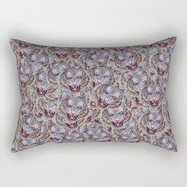 Don't Pet My Power Tiger pattern Rectangular Pillow